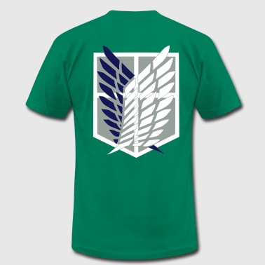 Attack On Titan scouting legion crest - Men's Fine Jersey T-Shirt