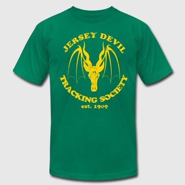 Jersey Devil Tracking Society  - Men's Fine Jersey T-Shirt