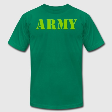 army in stencil - Men's Fine Jersey T-Shirt