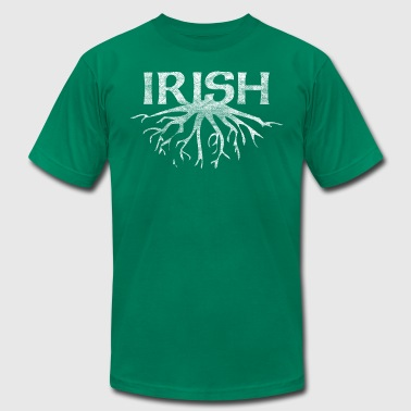 Irish Heritage Ethnicity Ireland Roots Clothing - Men's Fine Jersey T-Shirt