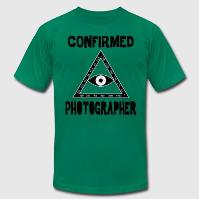 Confirmed Photographer - Men's T-Shirt by American Apparel