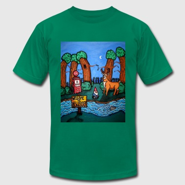 genital forest - Men's Fine Jersey T-Shirt