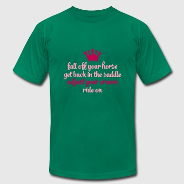 ride on - Men's T-Shirt by American Apparel