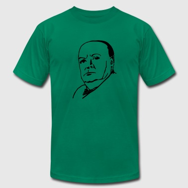 churchill - Men's T-Shirt by American Apparel