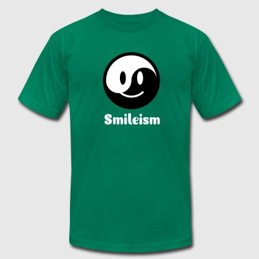 Smiley Yin Yang Icon 2c - Men's Fine Jersey T-Shirt