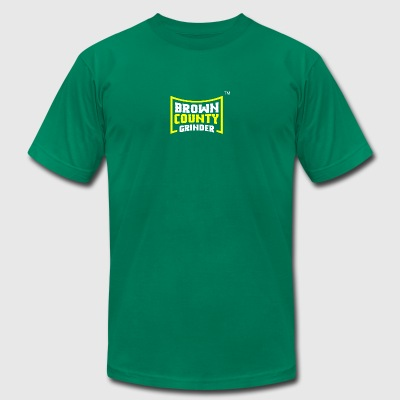BROWN COUNTY GRINDER - Men's T-Shirt by American Apparel