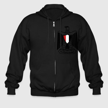 Coat of Arms - Egypt - Men's Zip Hoodie