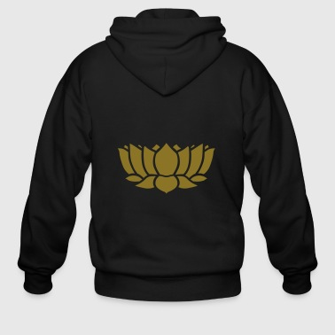 Lotus Flower - Men's Zip Hoodie
