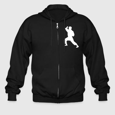 Karate Figure - Men's Zip Hoodie