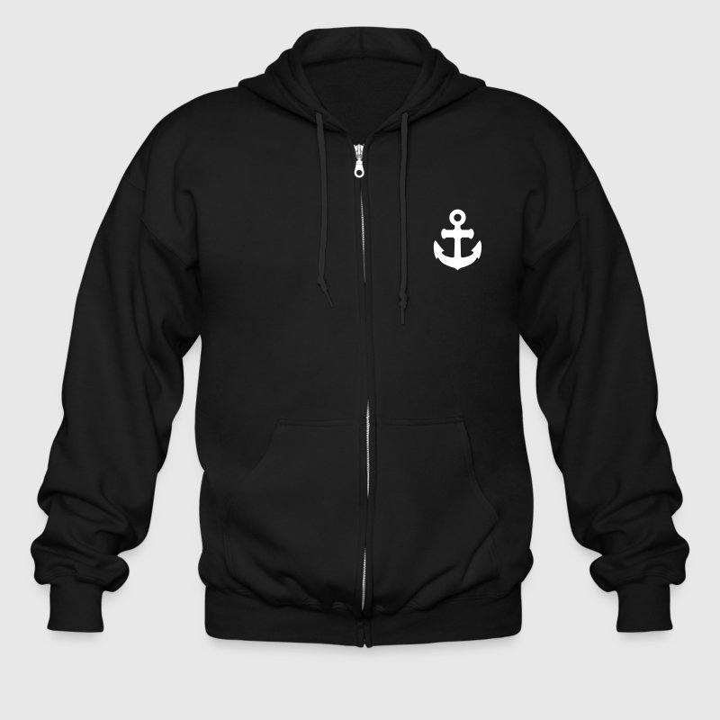 anchor sailing - Men's Zip Hoodie