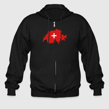 Switzerland - Men's Zip Hoodie