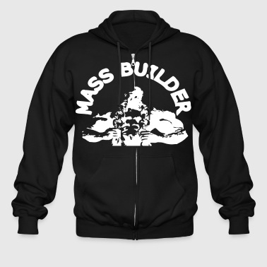 mass builderbodybuilder - Men's Zip Hoodie
