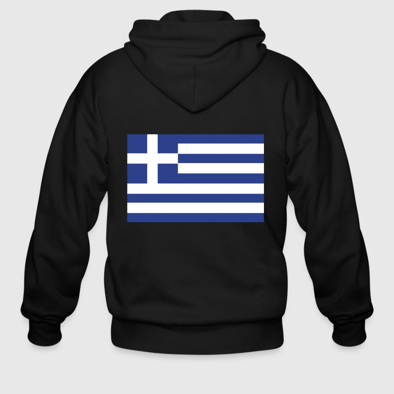 Love Greece - Men's Zip Hoodie