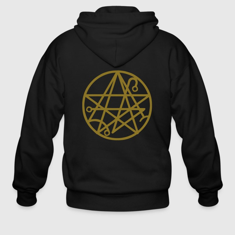 Necronomicon Star - Men's Zip Hoodie