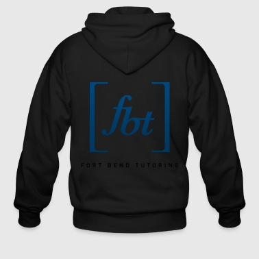 Bend Fort Bend Tutoring Logo [fbt] - Men's Zip Hoodie