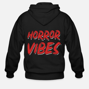 Killer Clown Horror Vibes - Horror movie, Halloween - Men's Zip Hoodie