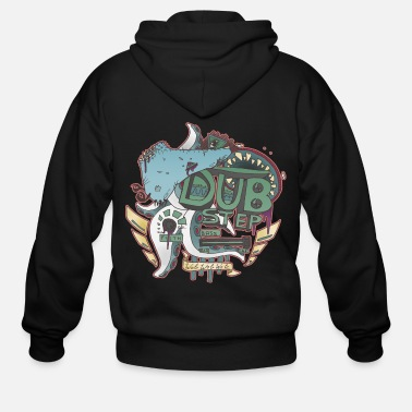 Dubstep Dubstep Monsters - Men's Zip Hoodie