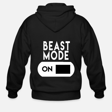 Mode Mode On - Men's Zip Hoodie