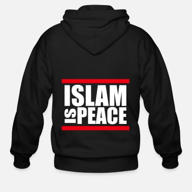Arabia Islam gift Muslim faith Mosque - Men's Zip Hoodie