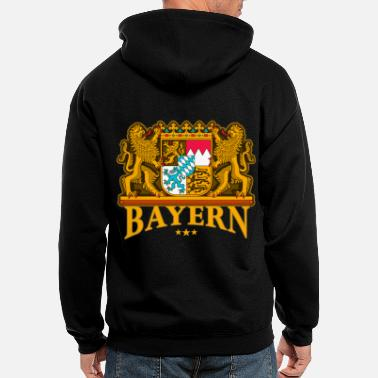Bavaria Oktoberfest Bavaria coat of arms Wiesn - Men's Zip Hoodie