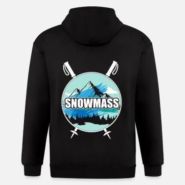 Snowmass Colorado Snowboard /& Snow Ski Goggles Mens Hooded Sweatshirt//Hoodie