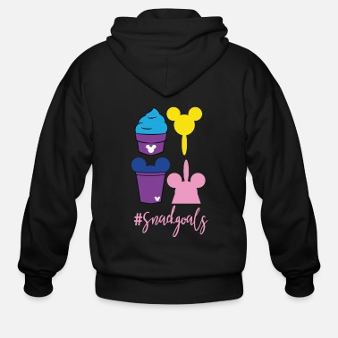 Tea An ice cream MickeyTheme Tshirt Design Sweets - Men's Zip Hoodie