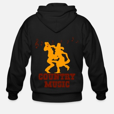 Country Music country music - Men's Zip Hoodie