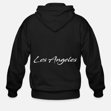 Vip Los Angeles - Men's Zip Hoodie