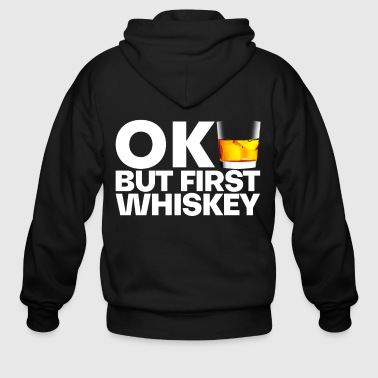 Whiskey whiskey - Men's Zip Hoodie