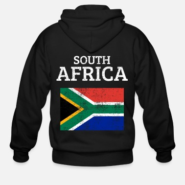 South Africa South Africa - Men's Zip Hoodie