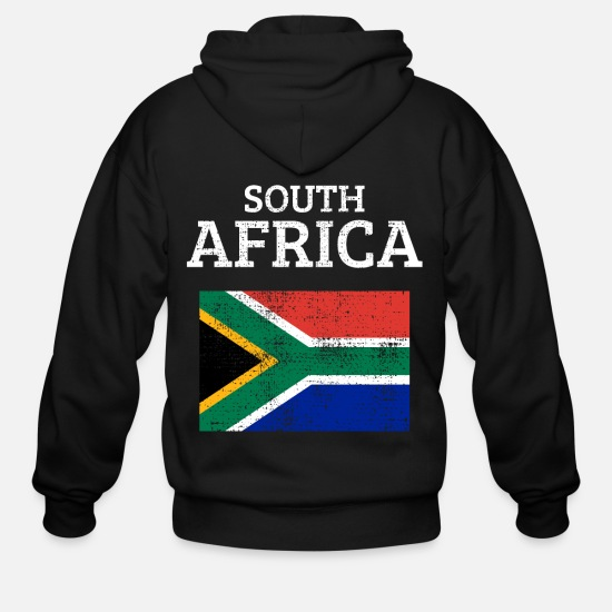 South Hoodies & Sweatshirts - South Africa - Men's Zip Hoodie black