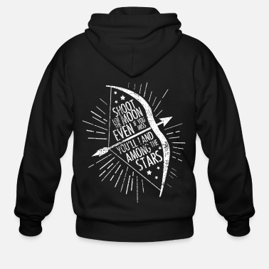 Arrow bow arrow - Men's Zip Hoodie