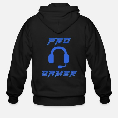 Pro Pro Gamer Gaming Headset Gamer - Men's Zip Hoodie