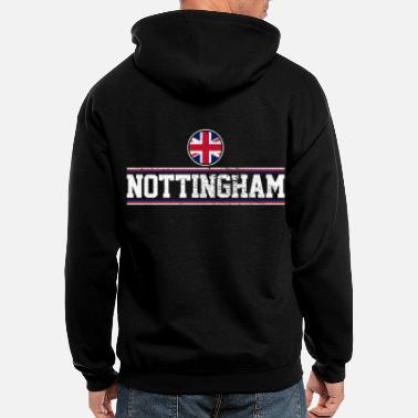 Nottingham Flag Nottingham - Men's Zip Hoodie