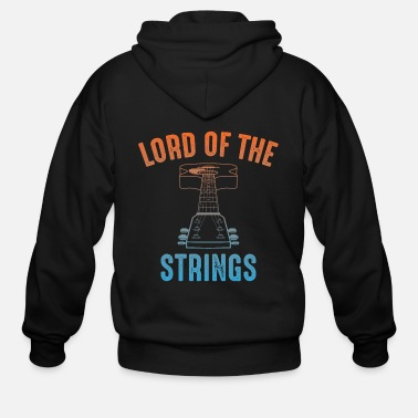 Chant Guitar Player - Men's Zip Hoodie