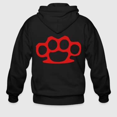 Knuckles Brass Knuckles - Men's Zip Hoodie