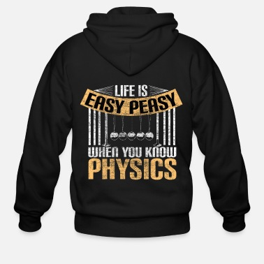 Model Physics teacher university gift idea - Men's Zip Hoodie