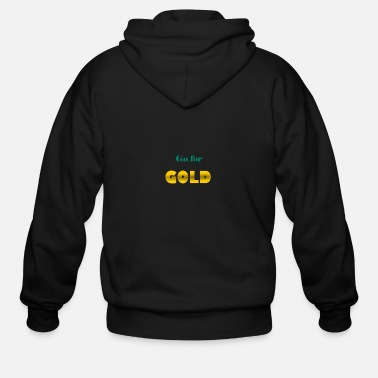 Gate golden - Men's Zip Hoodie