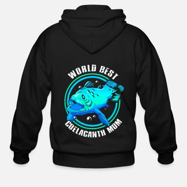 Fisherman Coelacanth - Men's Zip Hoodie