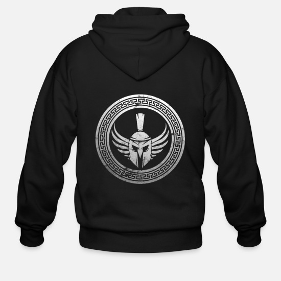 Spartan Hoodies & Sweatshirts - Spartan - Men's Zip Hoodie black
