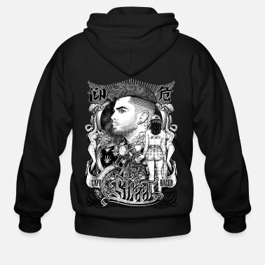 Gangster Winya No.14 - Men's Zip Hoodie