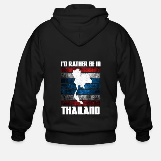 Thailand Hoodies & Sweatshirts - Thailand - Men's Zip Hoodie black