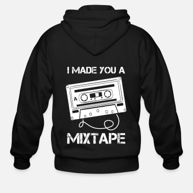 Cassette Cassette Music Retro 80s I Made You A Mix Tape - Men's Zip Hoodie