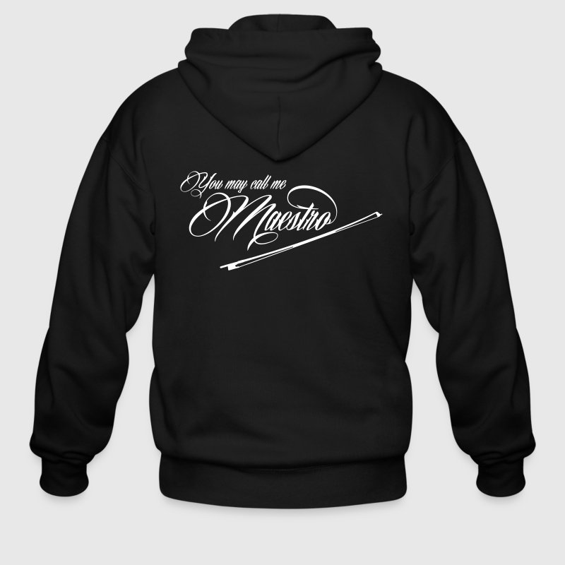 You can call me Maestro - bow - Men's Zip Hoodie