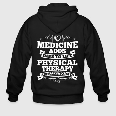 Physical Therapy/Physiotherapist/Physio/Therapist - Men's Zip Hoodie