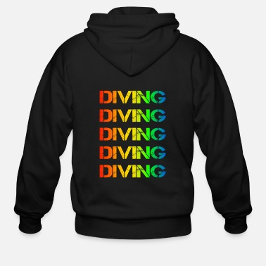 Mask Diving - Men's Zip Hoodie