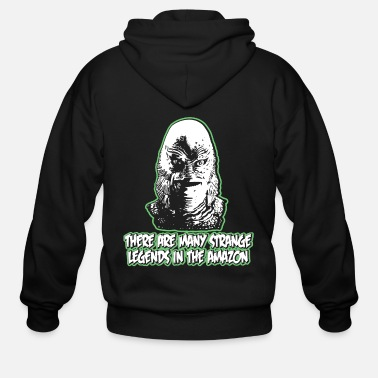 Creature Black lagoon - Creature from the Black Lagoon - Men's Zip Hoodie