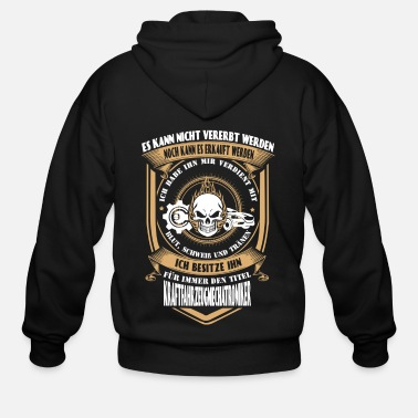 Streaker Vehicle Mechanic - I've earned it with my tears - Men's Zip Hoodie