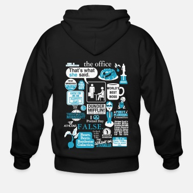 The office - Cool t-shirt for office lovers - Men's Zip Hoodie