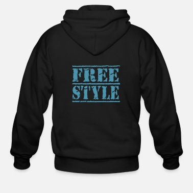 Freestyle freestyle - Men's Zip Hoodie